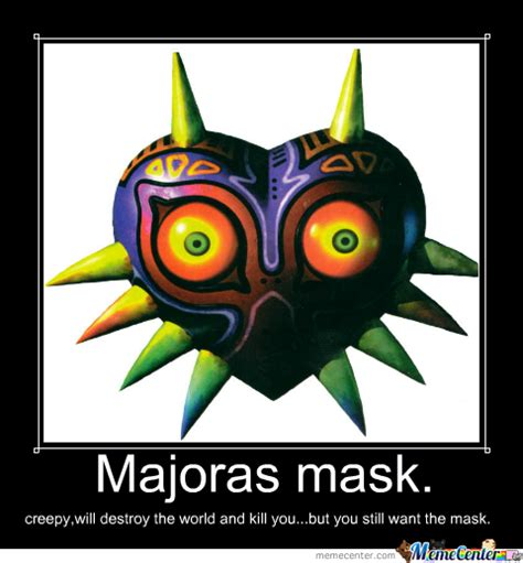 Meme Mask - majoras mask by death the joshua meme center