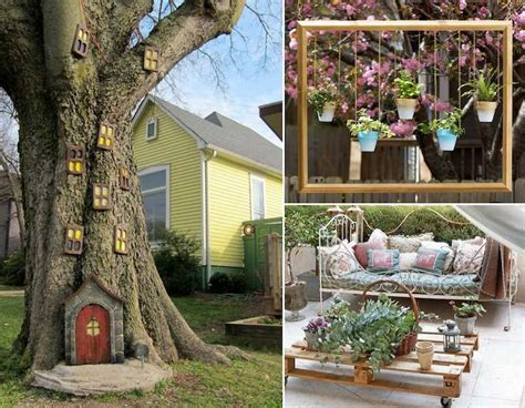 decor de jardin  faire soi meme  idees originales pas