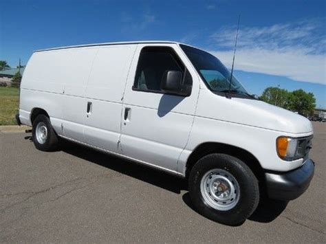 automobile air conditioning service 1963 ford e series on board diagnostic system sell used 2003 ford e 150 cargo van 1 owner low mileage 98k 4 6 v8 w racks fresh service in