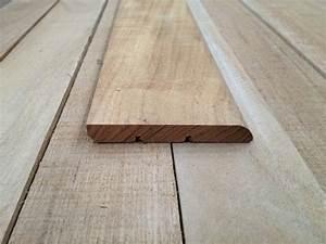Plinthes En Bois : plinthe teck massif 10x75mm brut selection bois ~ Nature-et-papiers.com Idées de Décoration
