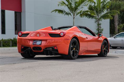 Used 458 Spider by Used 2013 458 Spider For Sale 189 900 Marino
