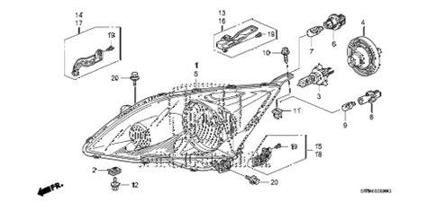 Honda Online Store Crv Headlight Parts