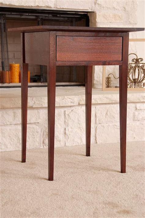 woodwork shaker side table plans  plans