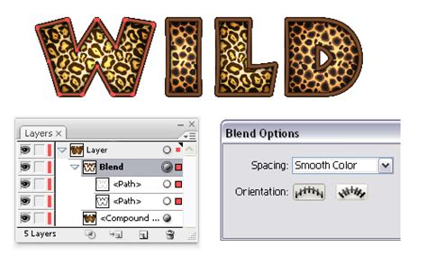 quick tip create  animal print text effect  adobe