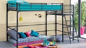 Lit Superposé Ado : un lit mezzanine dans la chambre des ados diaporama photo ~ Farleysfitness.com Idées de Décoration