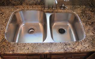 Undermount Vs Drop In Sink undermount kitchen sinks granite countertops