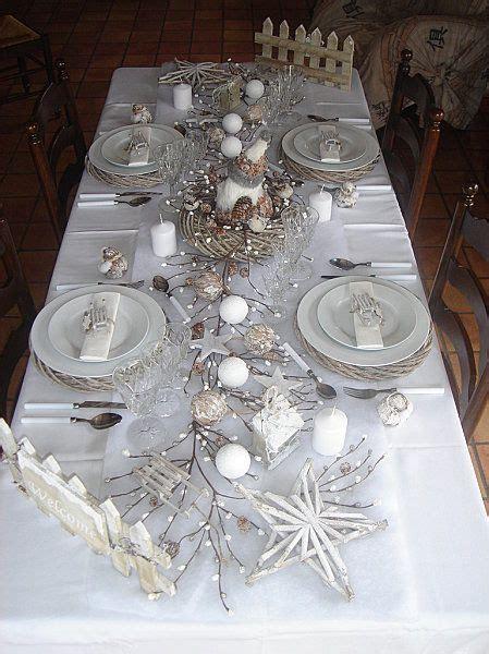 decoration table de noel et blanc table pour un no 235 l blanc d autres id 233 es sur le home decoration