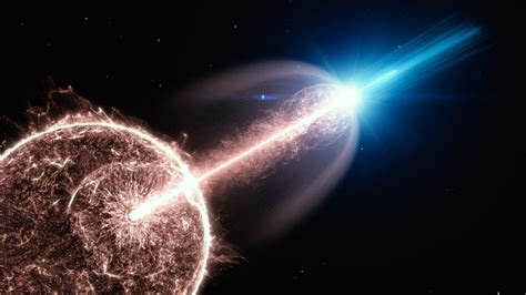 Collapsing star produces one of the most fantastic ...