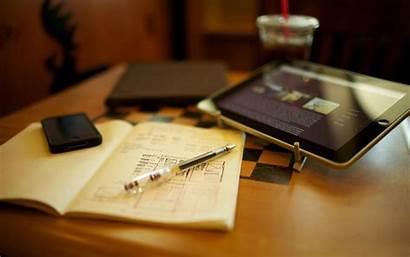 Pen Tablet Wallpapers Notebook Desk Others Desktop