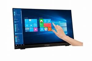 "Ecran PC tactile 22"" 1080p format 16:9 Hannspree HT225HPB ..."