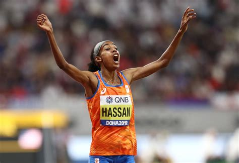She won two gold medals at the 2019 world championships. Defiant Hassan completes world double as Kovacs wins shot put for the ages
