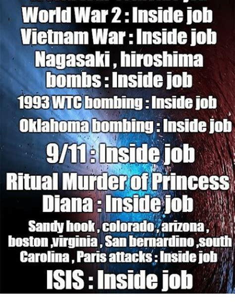 World War 2 Memes - world war 2inside job vietnam war inside job nagasaki hiroshima bombs inside job 1993wtcbombing