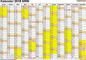 Kalender 2018 nrw ferien feiertage pdf vorlagen for Kalender 2018 nrw pdf