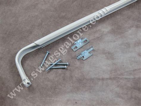 single heavy duty curtain rods drapery hardware