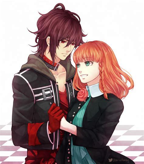 amnesia anime shin and heroine kiss shin and heroine by maesketch on deviantart