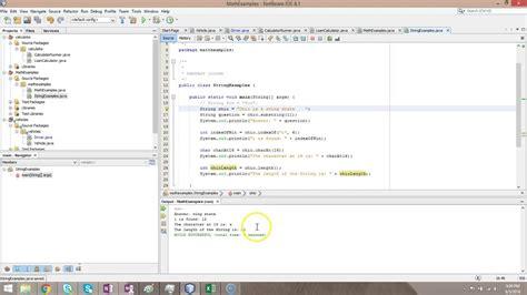 String Methods In Java Indexof Charat Trim Length Isempty
