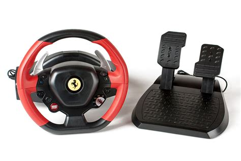 It has adjustable sensitivity, so you can customize your experience. 2016 XBox One Steering Wheel Buyers Guide - Inside Sim Racing