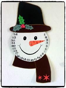 Calendrier De L Avent The : bricolage de no l un calendrier de l 39 avent bonhomme de neige mes humeurs cr atives ~ Preciouscoupons.com Idées de Décoration