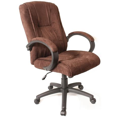 Comfort Products Padded Synthetic Suede Executive Chair