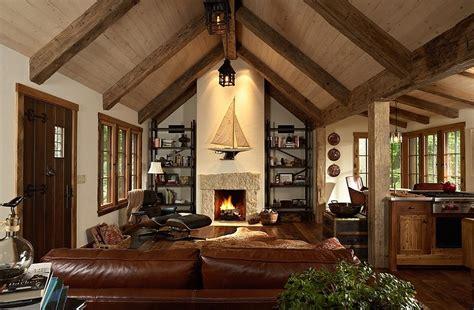 renovation cuir canapé 30 rustic living room ideas for a cozy organic home
