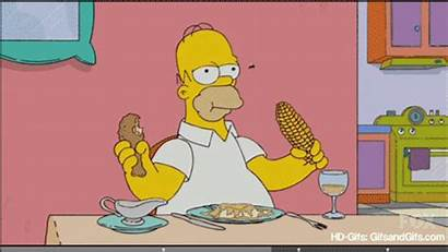 Homer Simpson Simpsons Fly Gifs Chicken Quotes