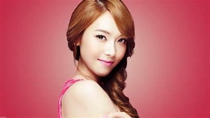Singer Korean Asian Jessica Jung Face Brown