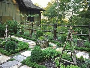 Cloture Jardin Bois : cl ture de jardin comment la d corer ~ Premium-room.com Idées de Décoration