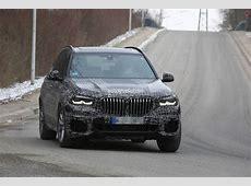 Spyshots 2019 BMW X5 Prototype Shows Front End Details