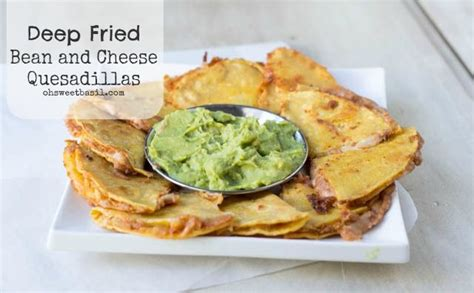 fried quesadilla mini bean and cheese fried quesadillas recipe