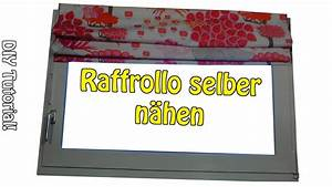 Rollo Selber Nähen : diy faltrollo raffrollo selber n hen n hen f r anf nger anleitung youtube ~ A.2002-acura-tl-radio.info Haus und Dekorationen