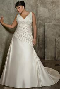 wedding gowns plus size wedding gowns for plus size brides weddingelation