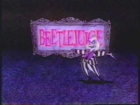 beetlejuice cartoon  opening title sequence youtube