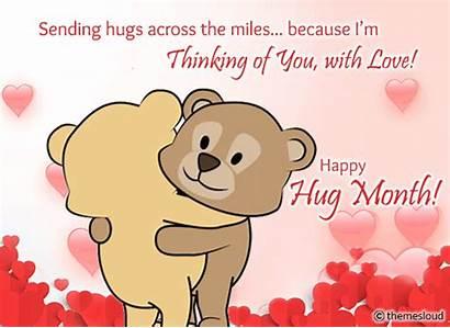 Sending Hugs Hug Miles Across Cards