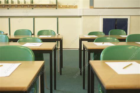 Empty classroom - Stock Image - F003/3308 - Science Photo ...