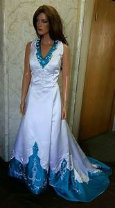 white and turquoise wedding dress gown and dress gallery With turquoise wedding dresses