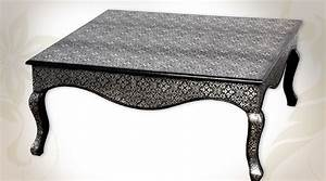 Table Basse Blanche Et Grise : table basse marocaine table basse blanche et grise trendsetter ~ Teatrodelosmanantiales.com Idées de Décoration