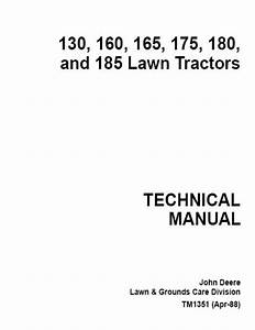 John Deere 185 Hydro Manual By Razvan Alexa