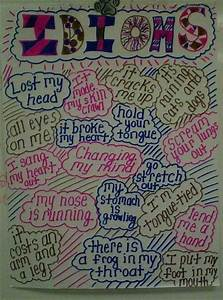 Idioms What A Fun Anchor Chart Classroom Posters