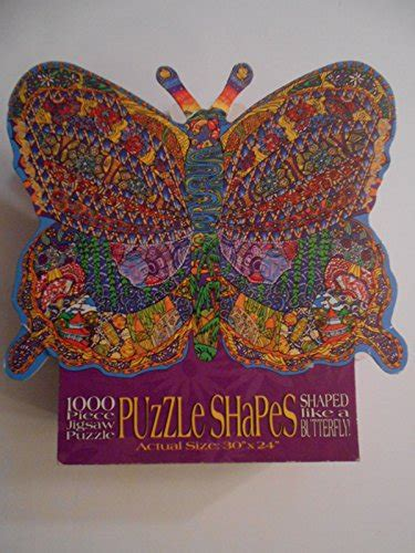 butterfly shaped jigsaw puzzle challenging gorgeous