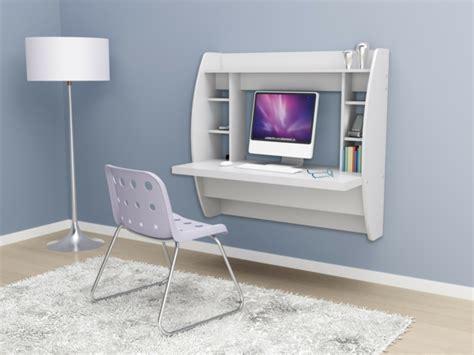 petit bureau moderne designs uniques de bureau suspendu