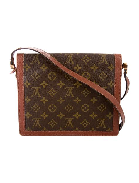 louis vuitton vintage monogram shoulder bag handbags