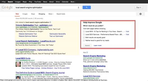 local search engine optimization how collects search quality date search engine