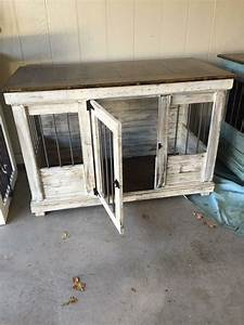 best 25 dog crate furniture ideas on pinterest puppy With custom wood dog kennels
