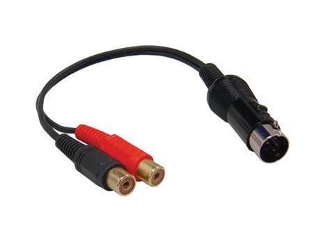 cinch auf aux aiv 13polig stecker auf 2x cinch kupplungen aux adapter kaufen