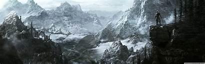 Elder Scrolls Skyrim Key Dual Desktop Wide