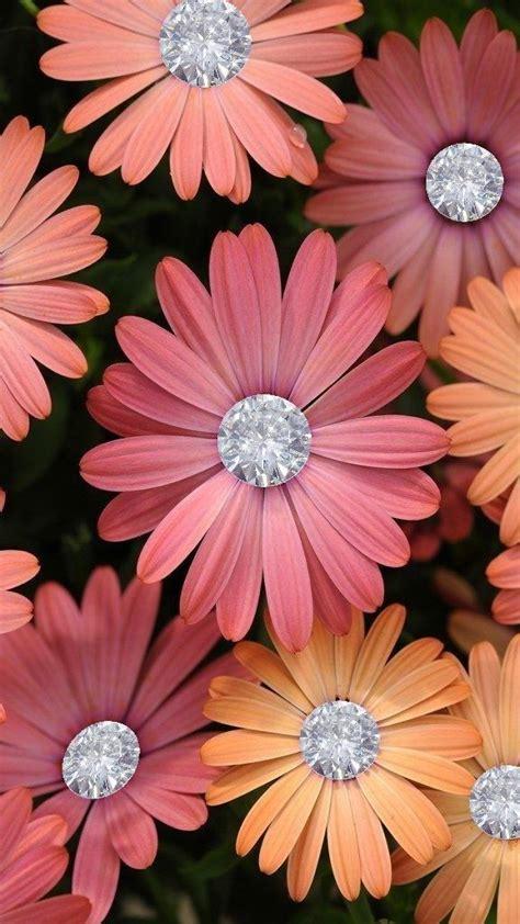 flores flores en  flower wallpaper bling