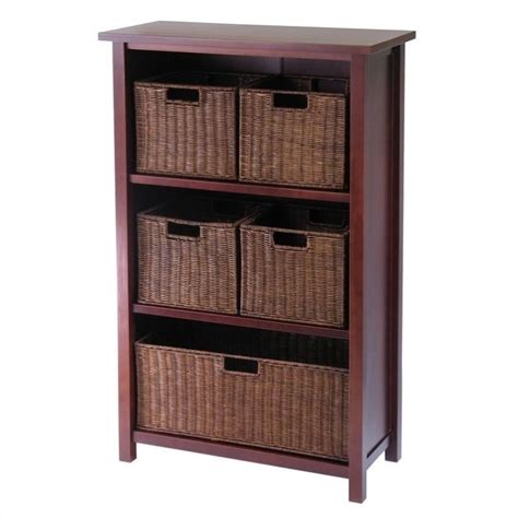Bookcase Bookshelf Furniture 3 Shelf Storage Unit With 5