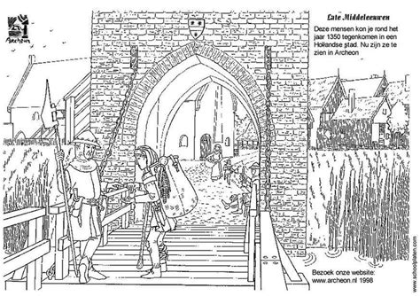 Gat Kleurplaat by Coloring Page City Gate Img 3224 Images