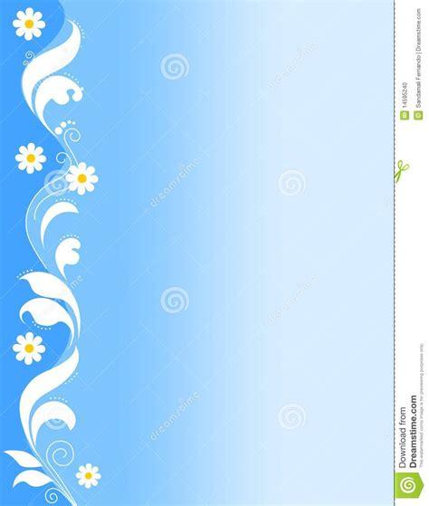floral border blue stock vector illustration  dirt