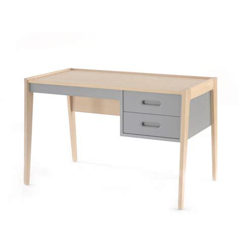 bureau gris bureau horizon gris nobodinoz pour chambre enfant les